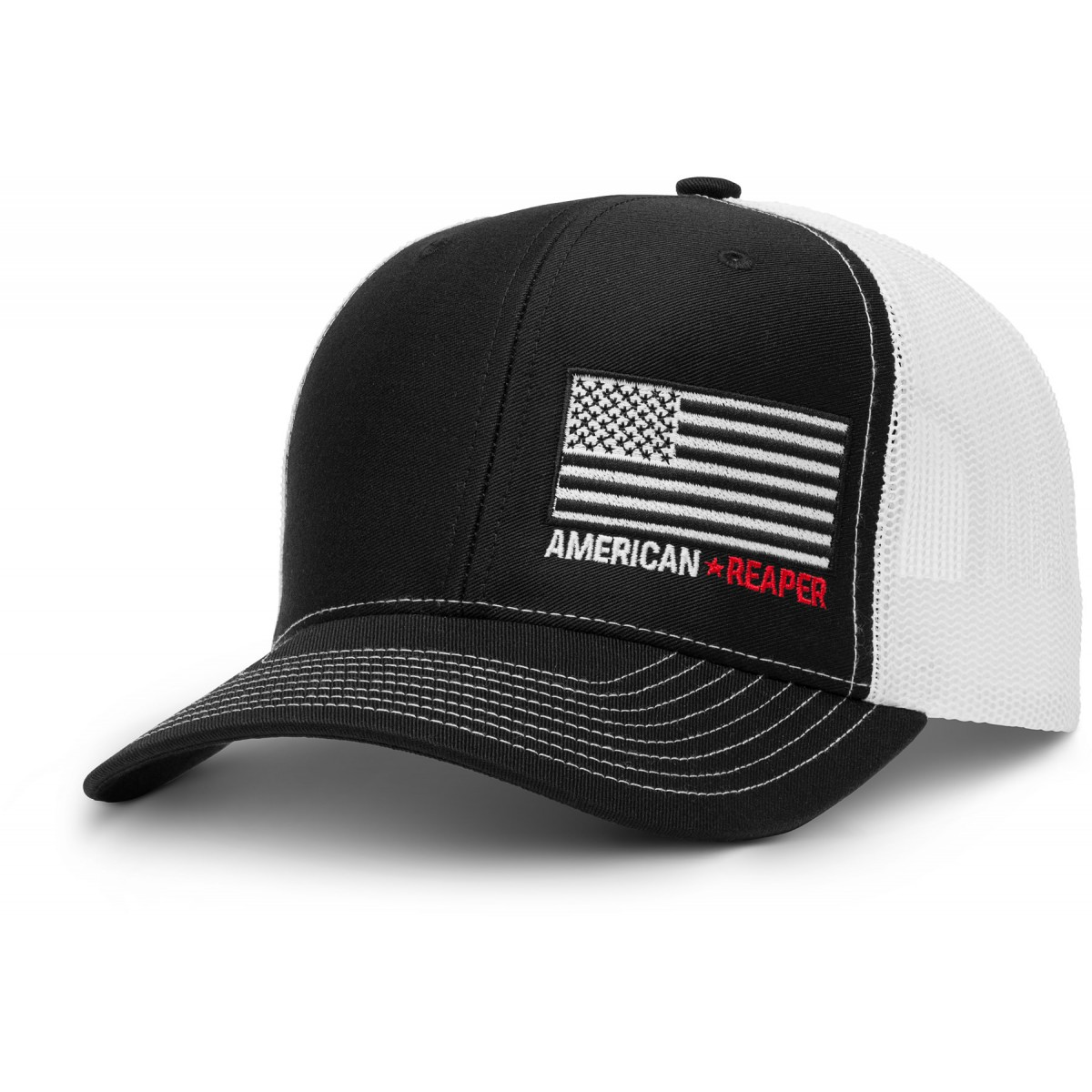 Patriot Flag Trucker Hat - American Reaper Apparel b91bf03428a