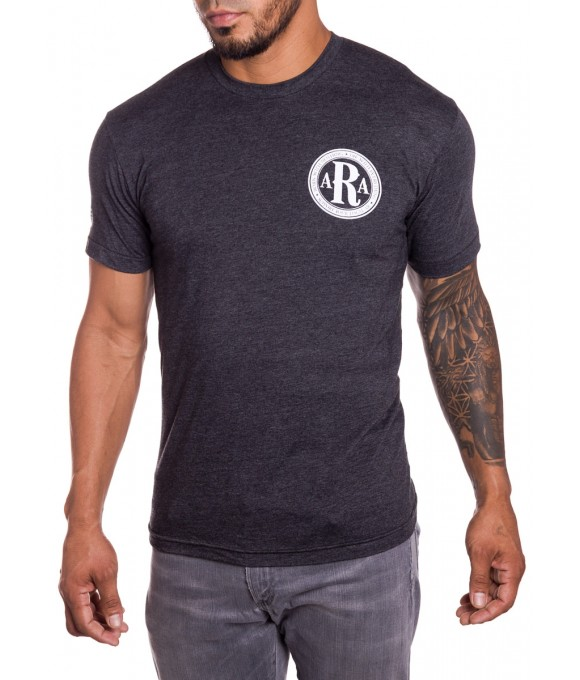 AR Club Seal Mens military T-Shirt front