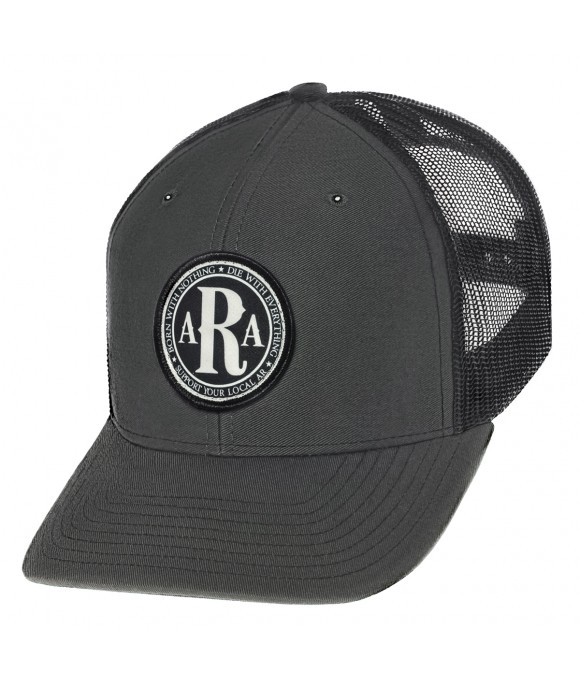 AR Club Seal Hat in Grey side