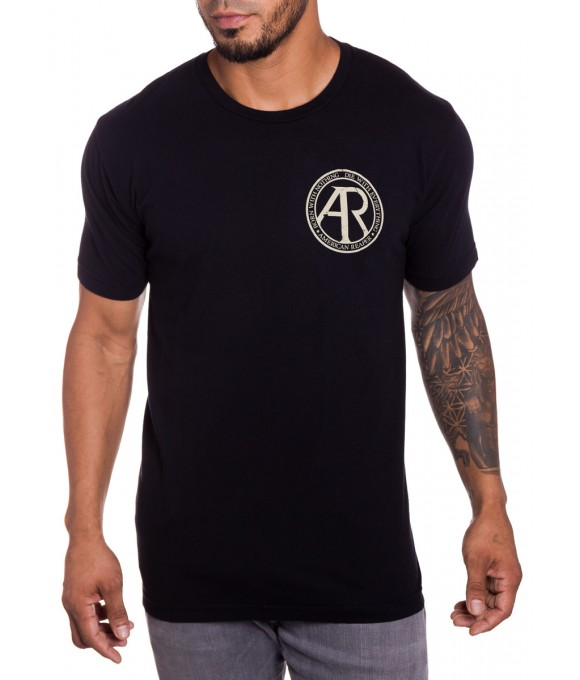 Kill Switch Mens Military T-Shirt in Black Front