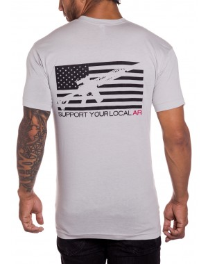 Support local AR military mens t-shirt