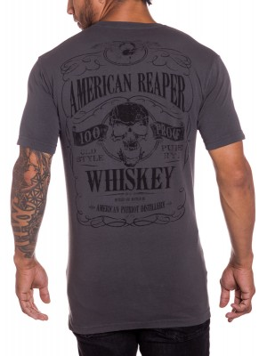 100 Proof Whiskey Mens Military T-Shirt
