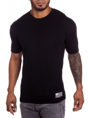Blacksite Mens Military T-shirt Silver
