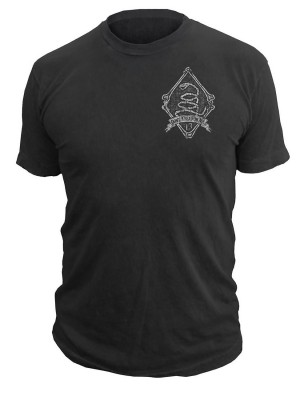 Dont Tread On Me Black Viper T-Shirt