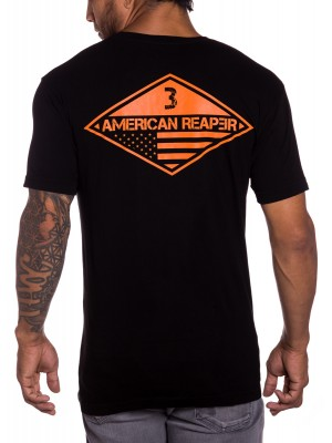 Ranger 3rd battalion mens military t-shirt in black
