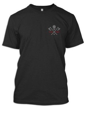 Sav-Tac Thin Red Line T-Shirt