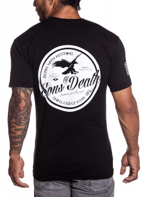 Sons of Death Military T-Shirt in White
