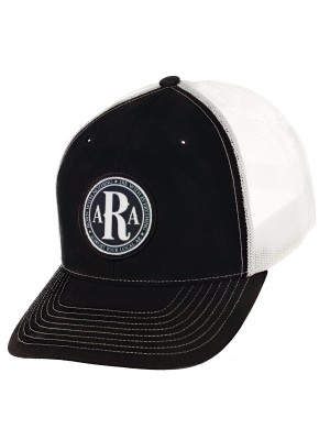 AR Club Seal Hat in Black & White