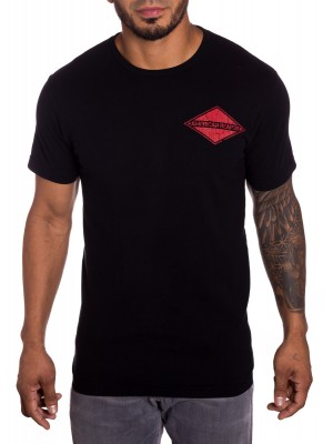 Blackout mens Military T-shirt front view