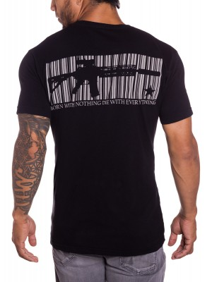 Coded mens military tshirt