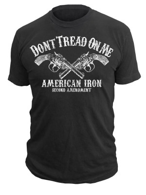 Dont Tread On Me American Iron T-Shirt