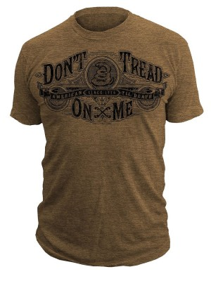 Dont Tread On Me Gettysburg T-Shirt