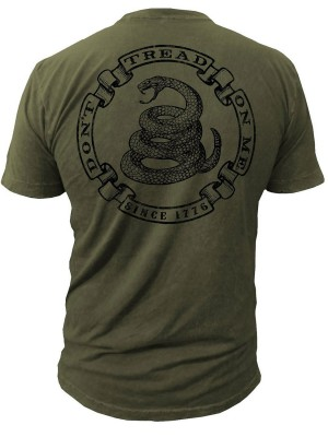 Dont Tread on Me Militia Mens T-Shirt