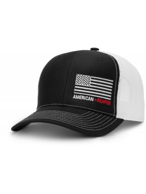 Patriot Flag Black Military Hat