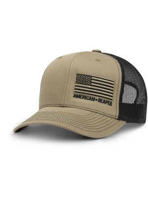 Patriot Flag OD Green Military Hat