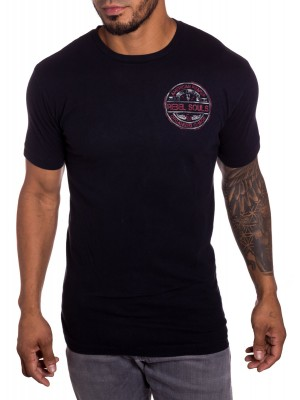 Rebel Souls Mens TShirt in Black front