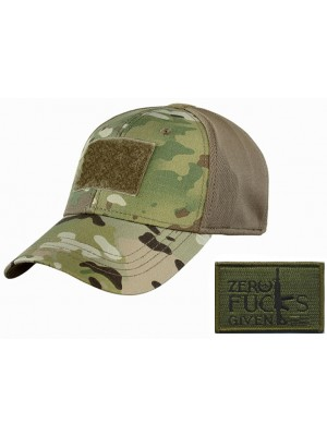 Sav-Tac MultiCamo Hat with Velcro Patch