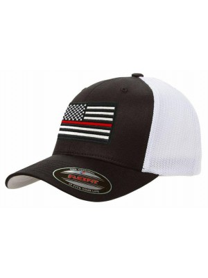 Thin Red Line Snapback Hat